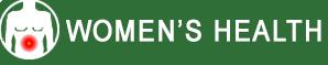 womens health button graphic